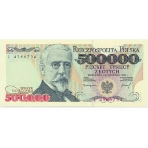 500.000 złotych 1993 - L -