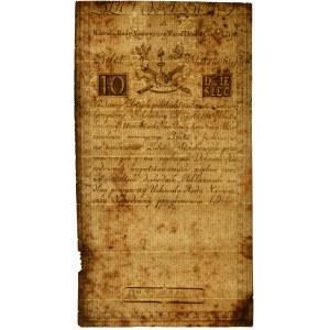 10 złotych 1794 - A - PMG 30 - znw. Honig & Zoonen