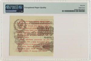 5 groszy 1924 - prawa połowa - PMG 66 EPQ - PIĘKNE