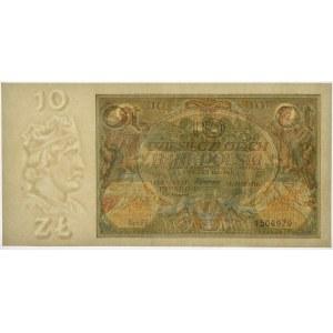 10 złotych 1929 - Ser.FF. - PMG 66 EPQ