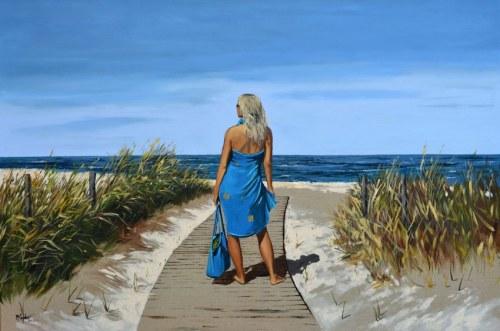 Magdalena KĘPKA, Idealny dzień na plażę, 2020 r.