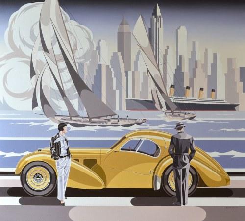 Tomasz Kostecki, Kobieta i Bugatti, 2020