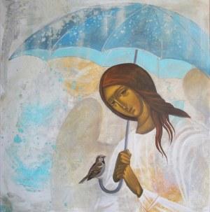 Sylwia Perczak, Pod parasolem, 2020