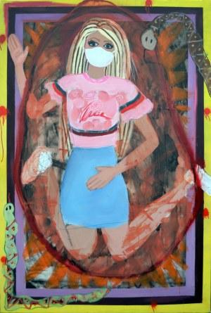 Julia Tymańska, Barbie izolacja domowa, 2020