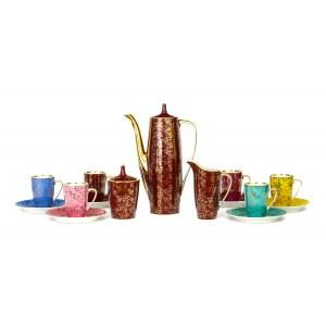 Serwis do kawy Goplana na 6 osób, proj. Wincenty POTACKI (1904-2001)