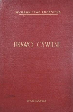 Litauer Jan Jakób - Prawo cywilne obowiązujące na obszarze b. Kongresowego Królestwa Polskiego