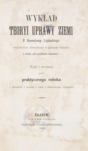 Rosenberg-Lipiński P. - Wykład teoryi uprawy ziemi