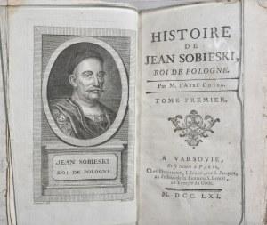 Coyer Gabriel-Francois - Histoire de Jean Sobieski, Roi de Pologne.