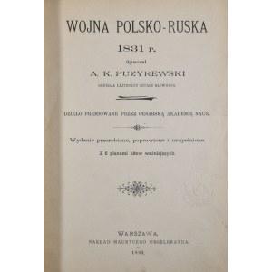 Puzyrewski Aleksander - Wojna polsko-ruska 1831 r.