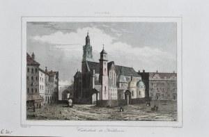 Kraków - Katedra na Wawelu, ok. 1840