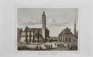 Kraków - Rynek, ok. 1840.