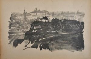 Gumowski Jan Kanty (1883-1946), Widok ogólny Krakowa od południa