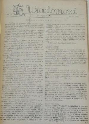 Wiadomości, R. IV 1944 r.