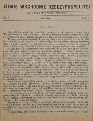 Ziemie wschodnie Rzeczypospolitej, 1942 r.