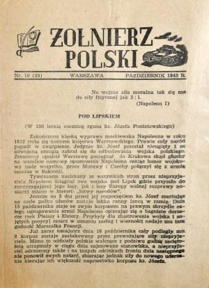 Żołnierz Polski, X 1943 r.