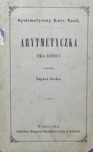Jeske August - Arytmetyczka dla dzieci.