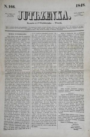 Jutrzenka, 1848 r.