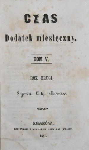 Czas, R. II, T. V, 1858