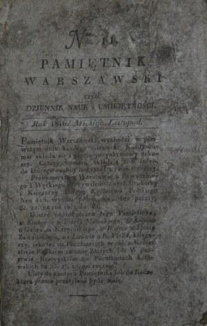 Pamiętnik Warszawski, 1816, nr 11