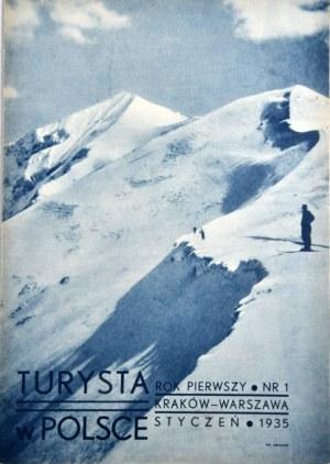 Turysta w Polsce, 1935-1938, komplet.