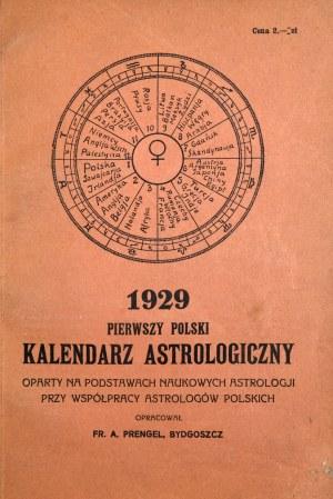 Kalendarz Astrologiczny, 1929 r.