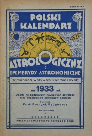 Kalendarz Astrologiczny, 1933 r.