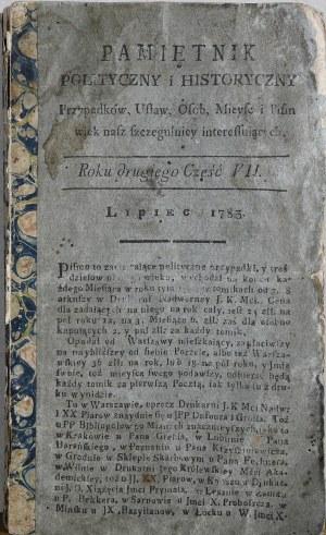 Pamiętnik Polityczny i Historyczny, R. II, cz. VII