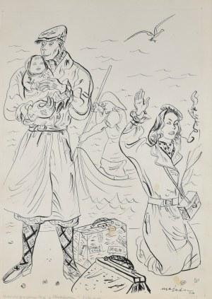 Berezowska Maja - Ilustracja do powieści Magdaleny Samozwaniec