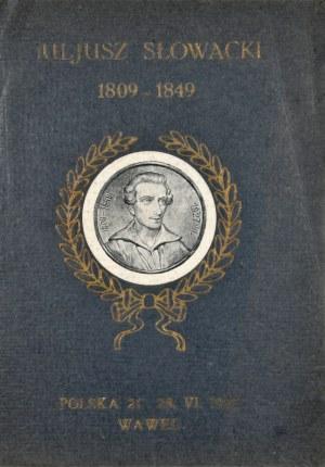 [Słowacki] Juljusz Słowacki 1809 - 1849.