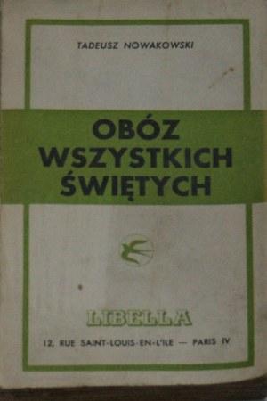 Nowakowski Tadeusz - Obóz wszystkich świętych.
