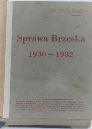 Sprawa Brzeska 1930 - 32.