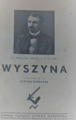Niebudek Stefan - Wyszyna. Warszawa [1936]