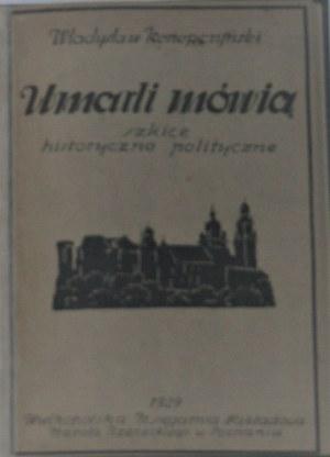 Konopczyński Władysław - Umarli mówią.