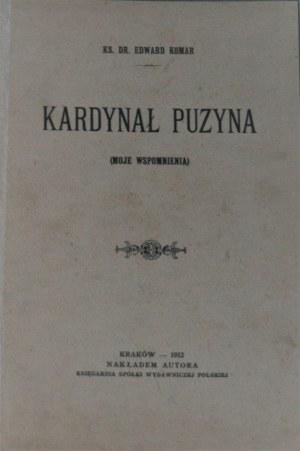 Komar Edward - Kardynał Puzyna (Moje wspomnienia).