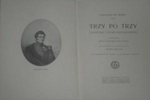 Fredro Aleksander - Trzy po trzy. Pamiętniki z epoki napoleońskiej