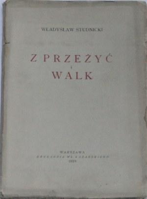 Studnicki Władysław - Z przeżyć i walk.