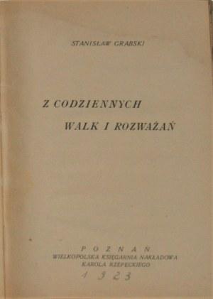 Grabski Stanisław - Z codziennych walk i rozważań.