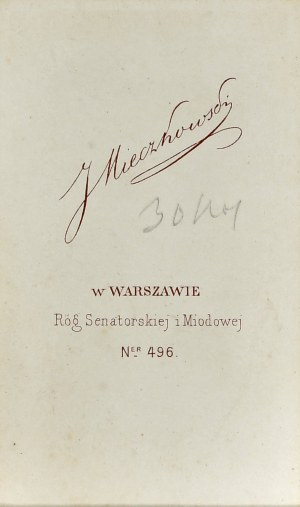 Matejko Jan, Mieczkowski, Warszawa