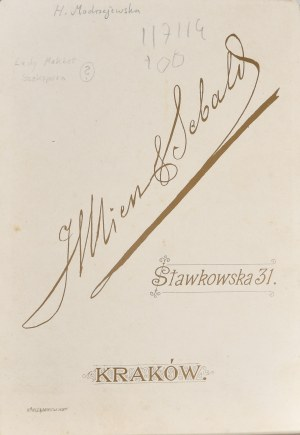 Modrzejewska Helena, Mien & Sebald, Kraków