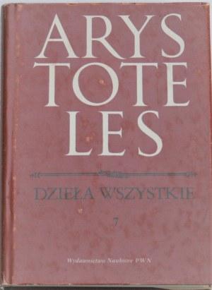 Arystoteles - Dzieła wszystkie. T. I - VII. Komplet.