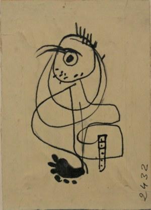 Stopka Andrzej - Autoportret, karykatura.