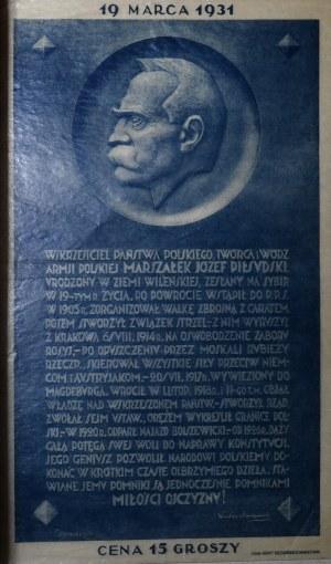 Piłsudski - 19 marca 1931 - cegiełka