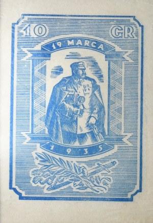 Piłsudski - 19 marca 1935 - cegiełka