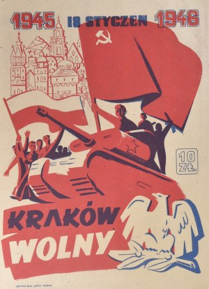 18 Styczeń 1945 - 1946 Kraków Wolny - cegiełka