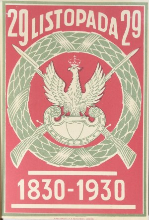 29 LISTOPADA 1830-1930