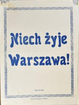 Niech żyje Warszawa! - cegiełka