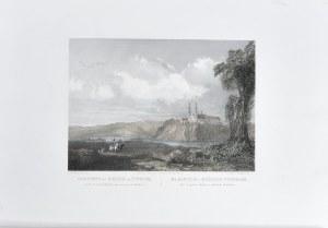 Klasztor i Kościół Tyniecki nad brzegami Wisły koło Krakowa, 1848