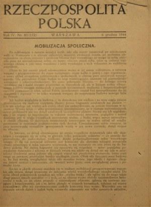 RZECZPOSPOLITA POLSKA 1944