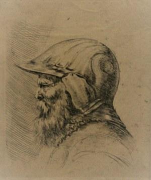 Bella Stefano della (1610-1664) - Popiersie żołnierza w hełmie, ok. 1647 r.
