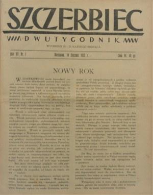 Szczerbiec 1931-1932